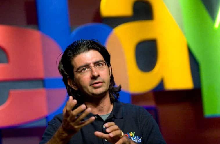 Pierre Omidyar ebay