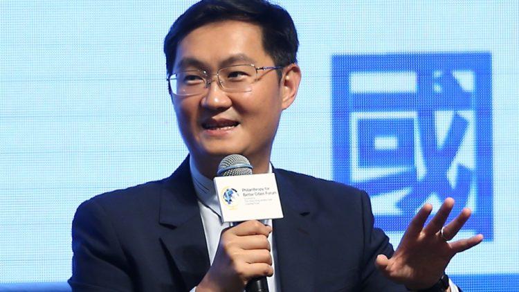 หม่า ฮั่วเถิง นักธุรกิจชาวจีนที่รู้จักกันในชื่อ Tony Ma