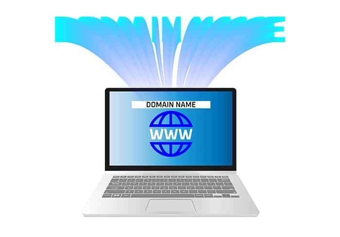 การเลือกชื่อโดเมน โดเมนเนม domain name