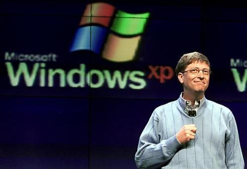 bill gates and widows