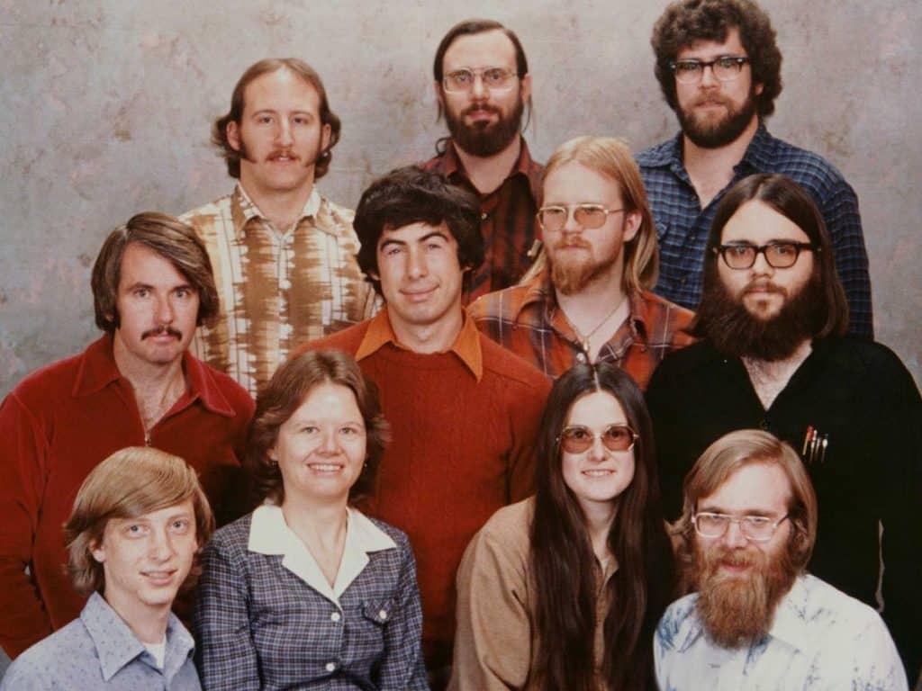 microsoft รุ่นแรก