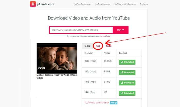 วิธี ดาวน์โหลด วีดีโอจาก YouTube ให้เป็นไฟล์เพลง MP3