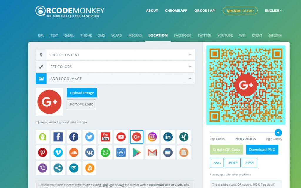 วิธีสร้าง QR Code ใน qrcode-monkey ใส่ logo ได้ด้วย