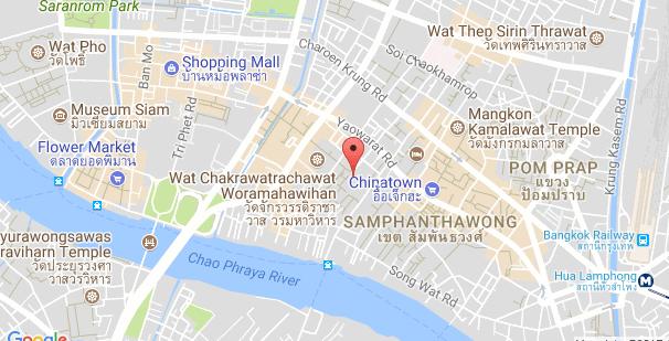 google map สำเพ็ง