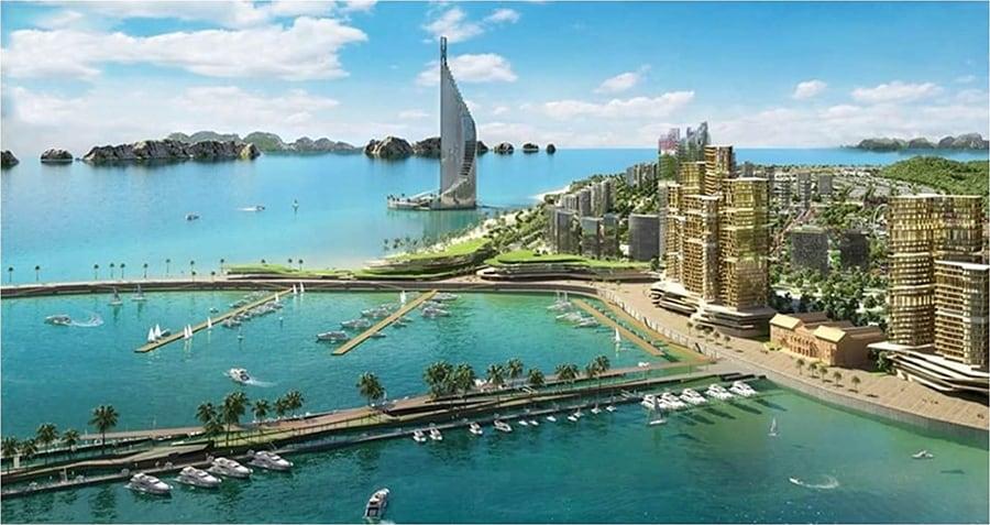 เวียดนามเดินหน้าพัฒนา ฮาลองเบ สร้างตึกที่สูงที่สุดในอาเซียน