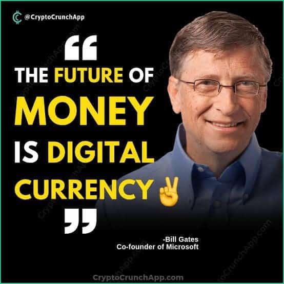 บิล เกตส์ กล่าวว่า เงินในอนาคตจะเป็นรูปแบบดิจิทัล
