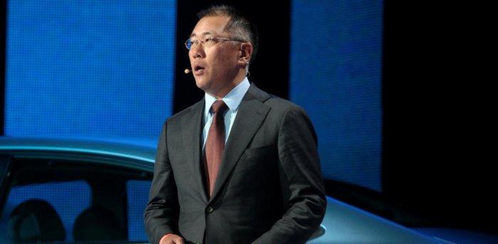 Euisun Chung ประธานคนใหม่ของบริษัท Hyundai Kia